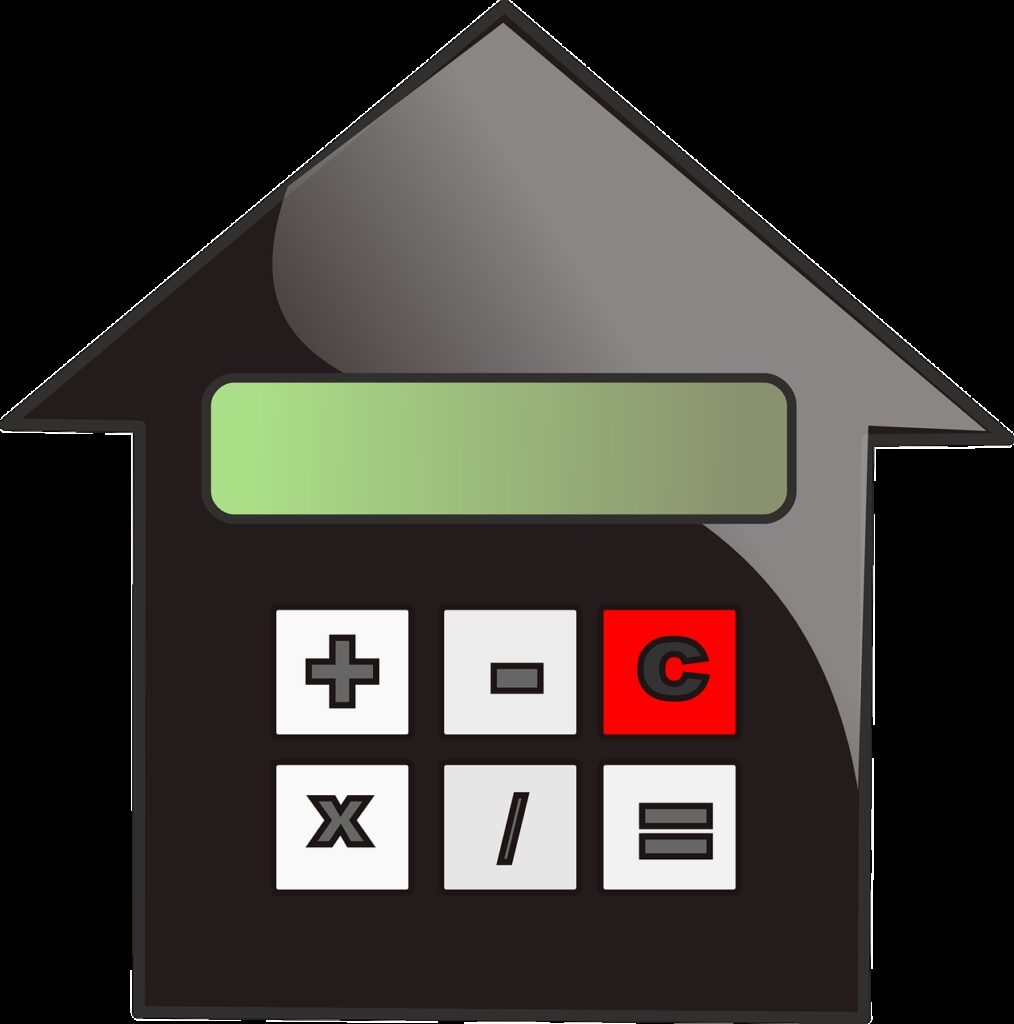 valuation, mortgage, calculate